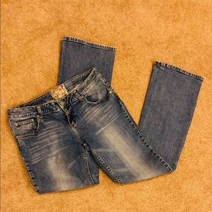 AMERICAN RAG Juniors Size 9r Flare Jeans